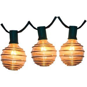 Instyle Outdoor 10 Light Globe Solar Light Set